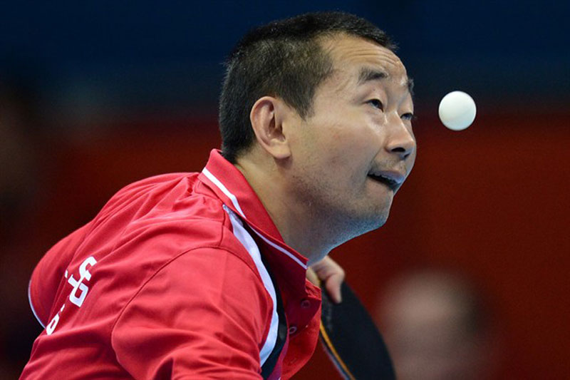 The Funny Faces of Table Tennis