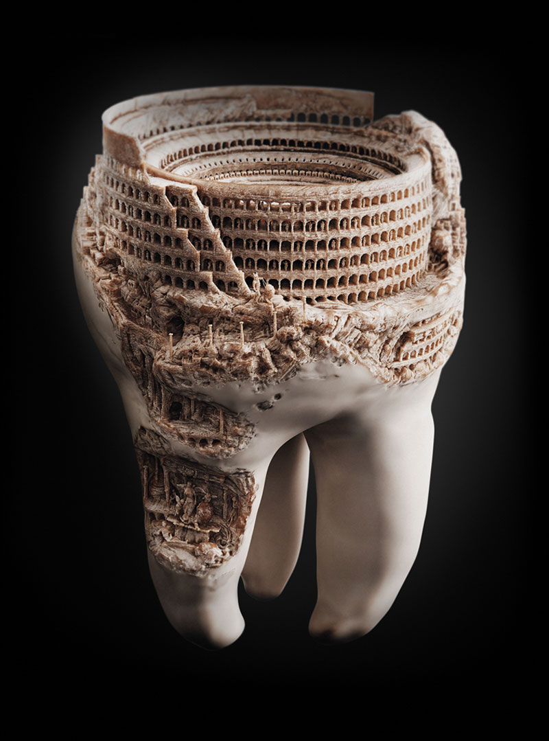 toothy landscape colosseum on a tooth 2 Picture of the Day: A Toothy Landscape