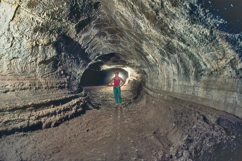 valentine cave lava tube lava beds national monument california usa 12 Amazing Pictures of Lava Tubes Around the World