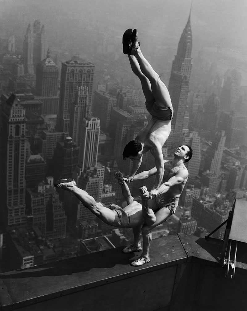 Picture of the Day: Vintage AcrobaticInsanity