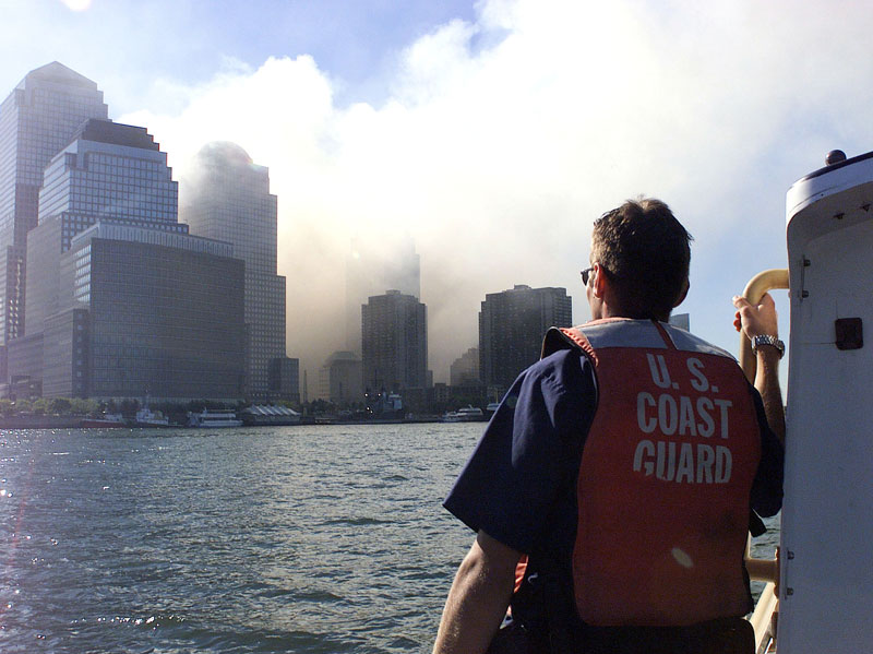 9 11 coast guard boatlift evacaution of manhattan new york city 1 The Biggest Bonfire in the World