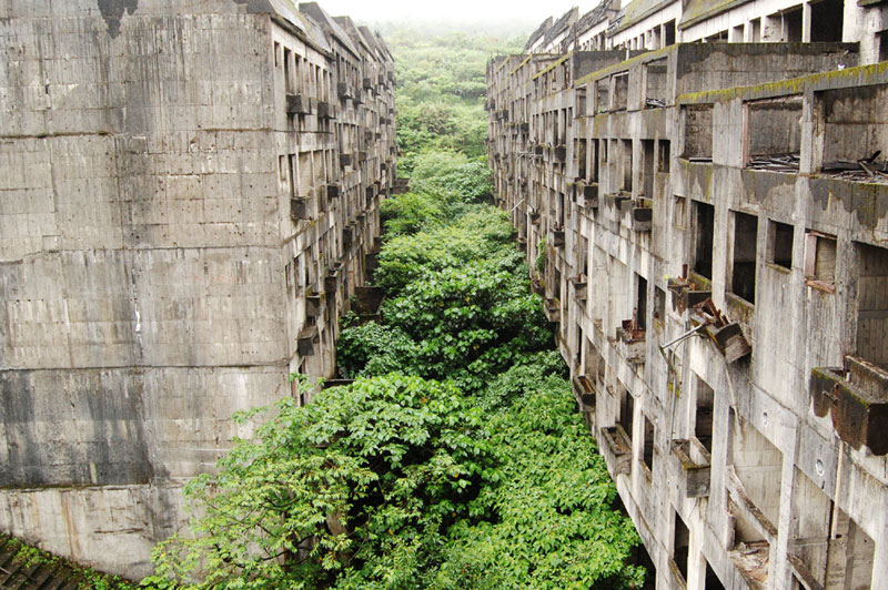 Abandoned Buildings Overtaken By Nature