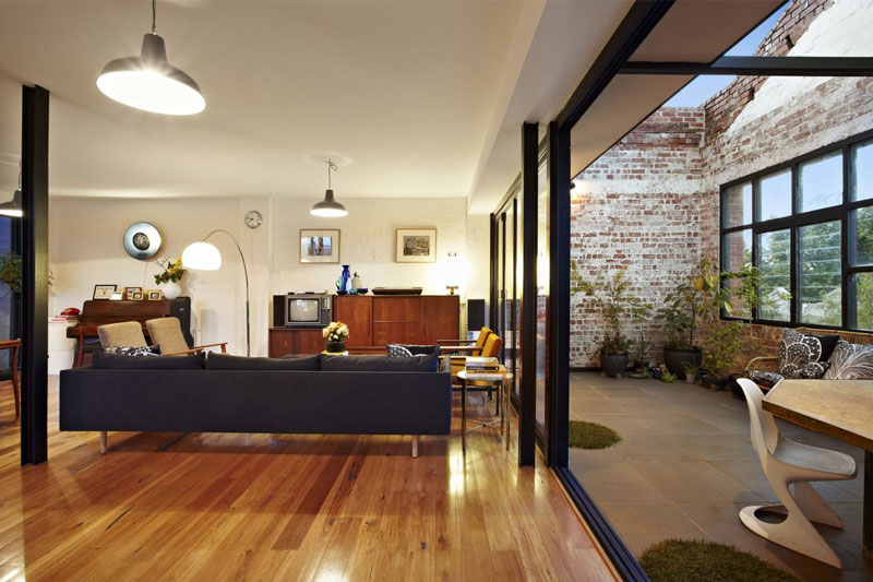 Living Spaces Warehouse : Amazing Warehouse Apartments Conversion in Melbourne ...