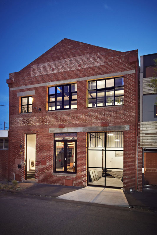 abbotsford warehouse apartments conversion melbourne australia itn architects 10 Amazing Warehouse Apartments Conversion in Melbourne