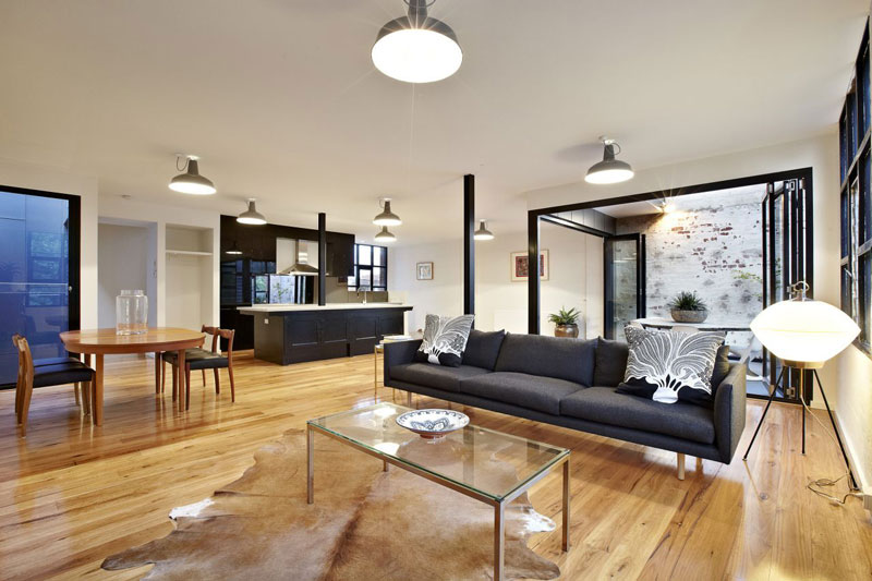 abbotsford warehouse apartments conversion melbourne australia itn architects 17 Amazing Warehouse Apartments Conversion in Melbourne