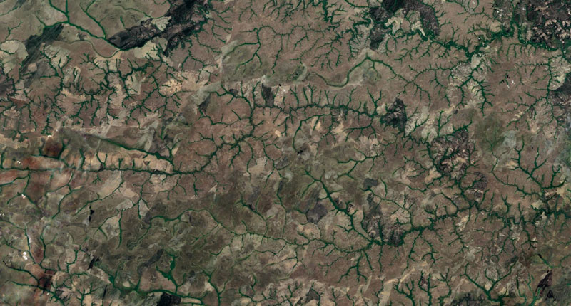 colombia google earth fractals Fractal Patterns in Nature Found on Google Earth
