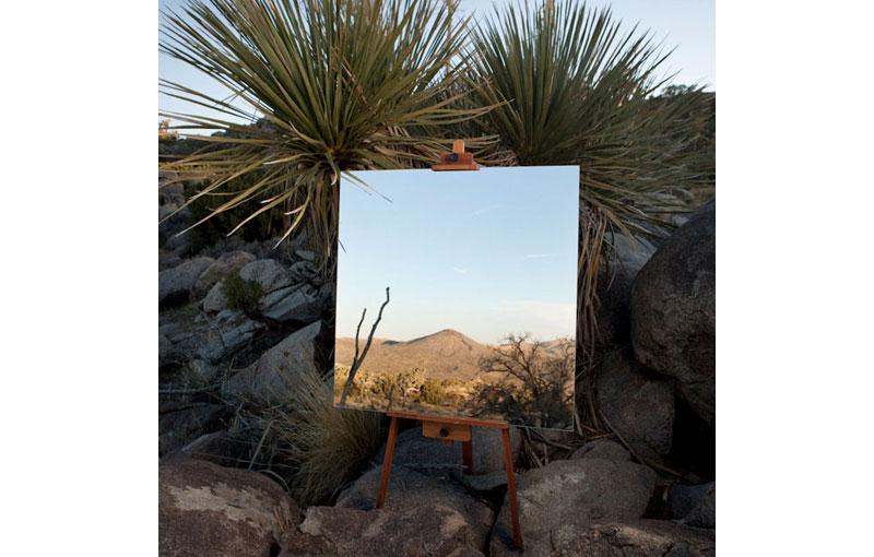 Desert Landscape Portraits Using a Mirror andEasel