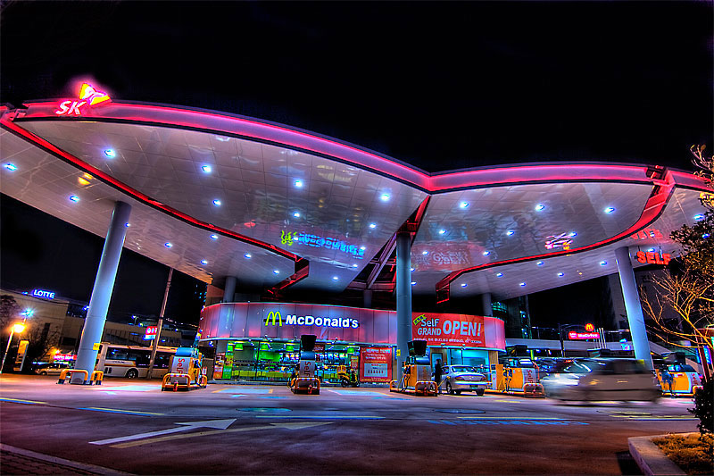 drive thru mcdonalds in ulsan south korea The Most Unusual McDonalds Locations in the World