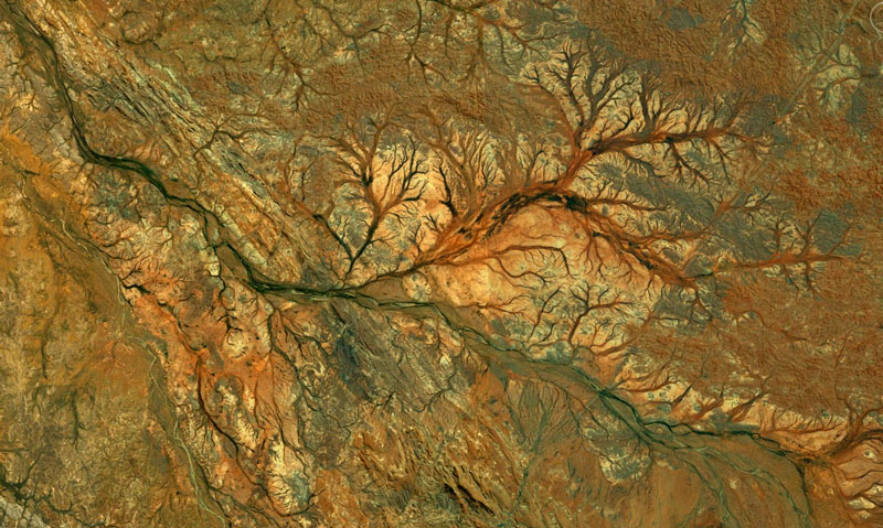 exmouth australia google earth fractals Fractal Patterns in Nature Found on Google Earth