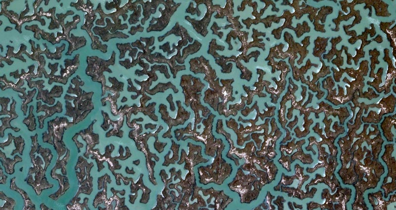 fractal-patterns-in-nature-spain-google-earth