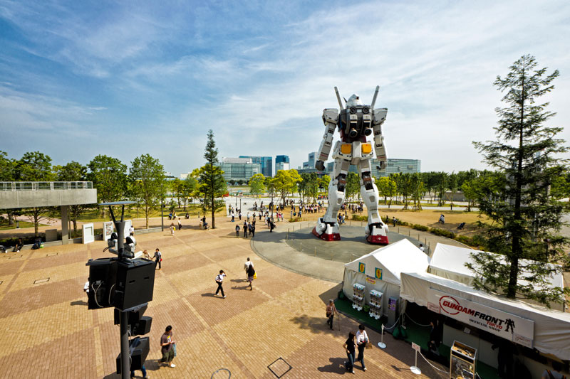 full size gundam model statue japan 18 meter 30th anniversary 1 A Full Scale Gundam Model in Japan