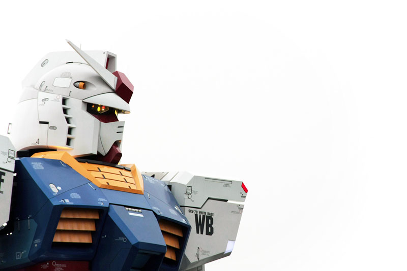 full size gundam model statue japan 18 meter 30th anniversary 10 A Full Scale Gundam Model in Japan