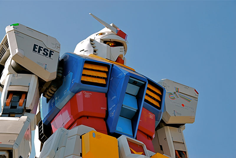 full size gundam model statue japan 18 meter 30th anniversary 11 A Full Scale Gundam Model in Japan