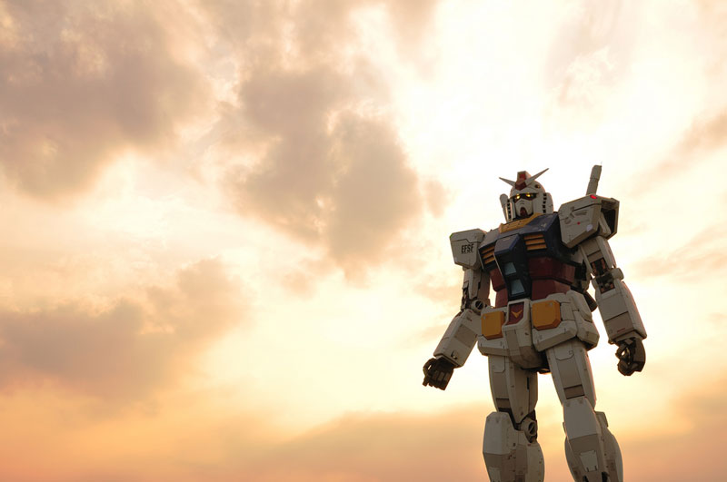 full size gundam model statue japan 18 meter 30th anniversary 12 A Full Scale Gundam Model in Japan