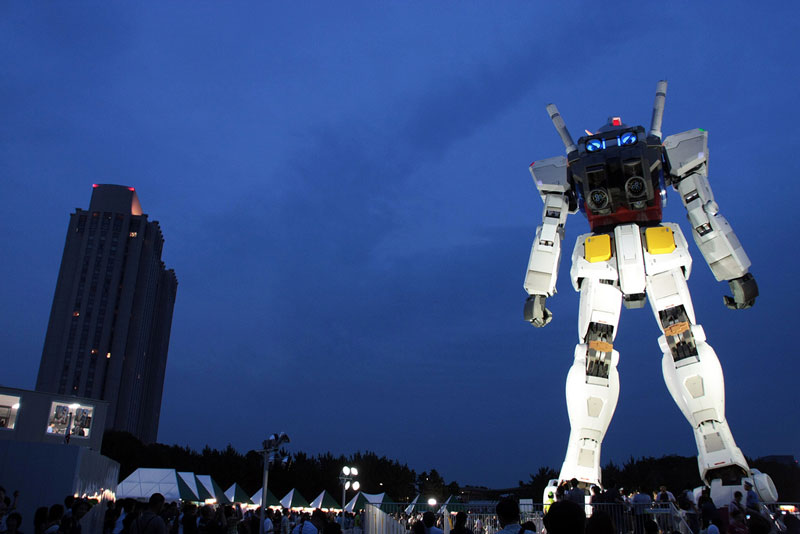 full size gundam model statue japan 18 meter 30th anniversary 15 A Full Scale Gundam Model in Japan