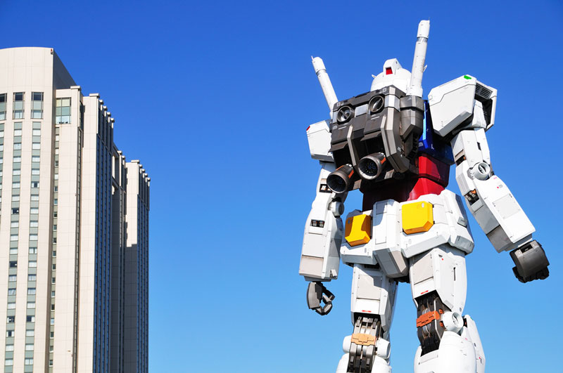 full size gundam model statue japan 18 meter 30th anniversary 5 A Full Scale Gundam Model in Japan