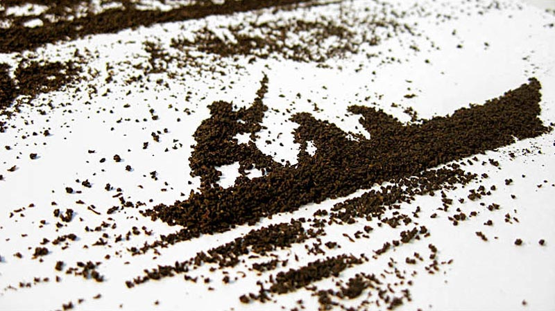 landscapes made from dried tea leaves show teas origin andrew gorkovenko 7 Beautiful Landscapes Made from Dried Tea Leaves