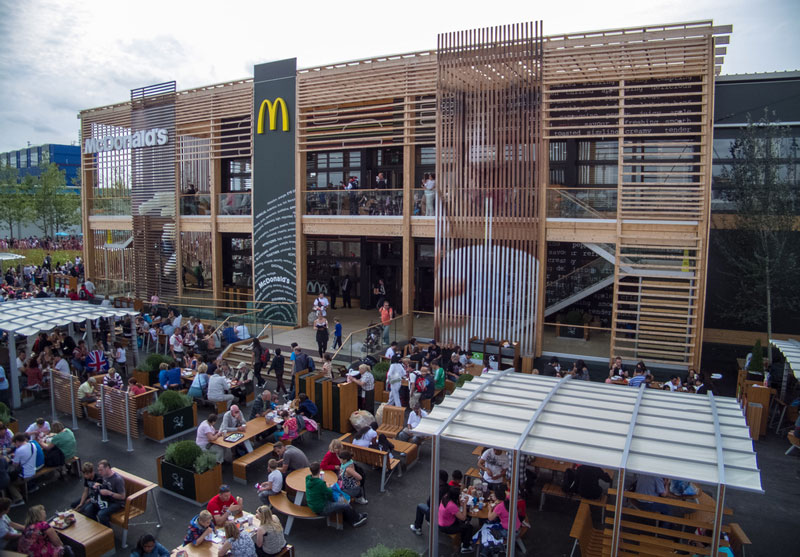 mcdonalds in hackney wick london england The Most Unusual McDonalds Locations in the World