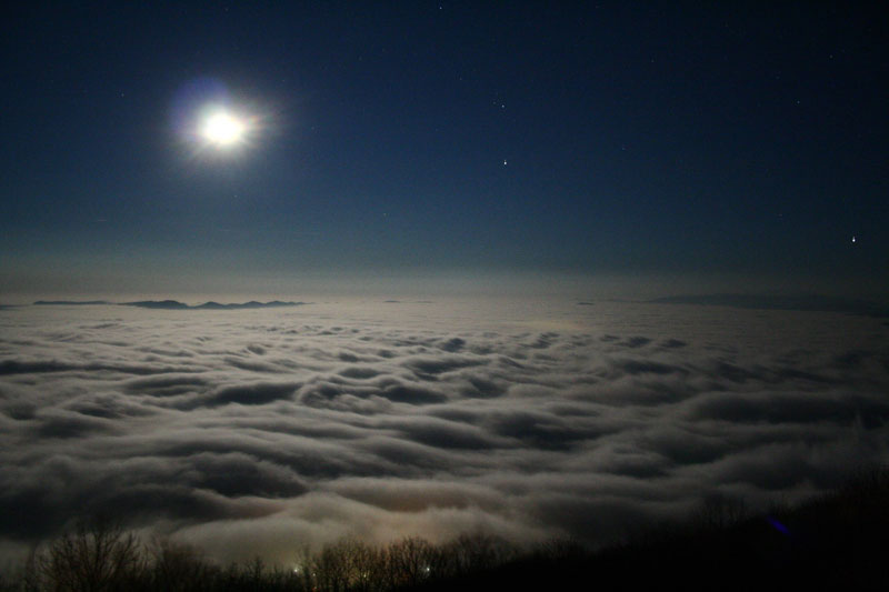 Picture of the Day: A Sea of Clouds in Bulgaria