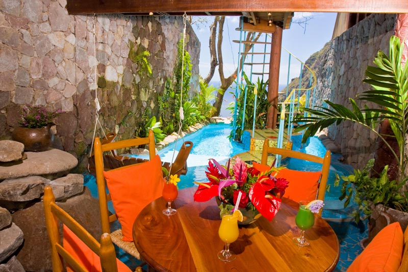 open wall resort st lucia ladera 11 The Open Wall Resort in St. Lucia [20 pics]