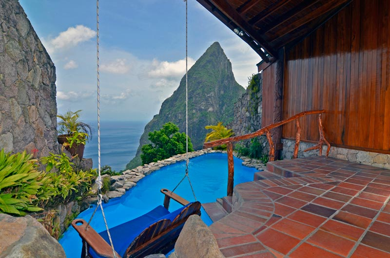 open wall resort st lucia ladera 18 The Open Wall Resort in St. Lucia [20 pics]