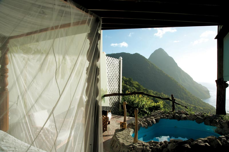open wall resort st lucia ladera 2 The Open Wall Resort in St. Lucia [20 pics]