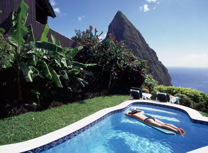 open wall resort st lucia ladera 6 The Open Wall Resort in St. Lucia [20 pics]