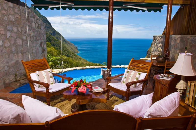 open wall resort st lucia ladera 8 The Open Wall Resort in St. Lucia [20 pics]