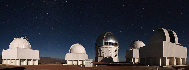panorama photo featuring blanco 4 meter telescope at ctio cerro tololo chile The Most Powerful Digital Camera in the World
