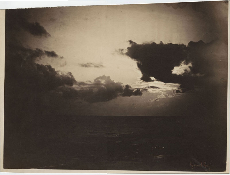photo manipulation before digital age gustave le gray  cloud study 15 Photo Manipulations Before the Digital Age