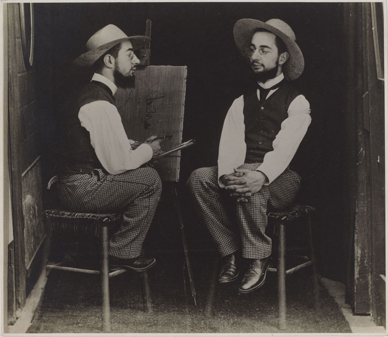 photo manipulation before digital age maurice guilbert henri de toulouse lautrec 15 Photo Manipulations Before the Digital Age