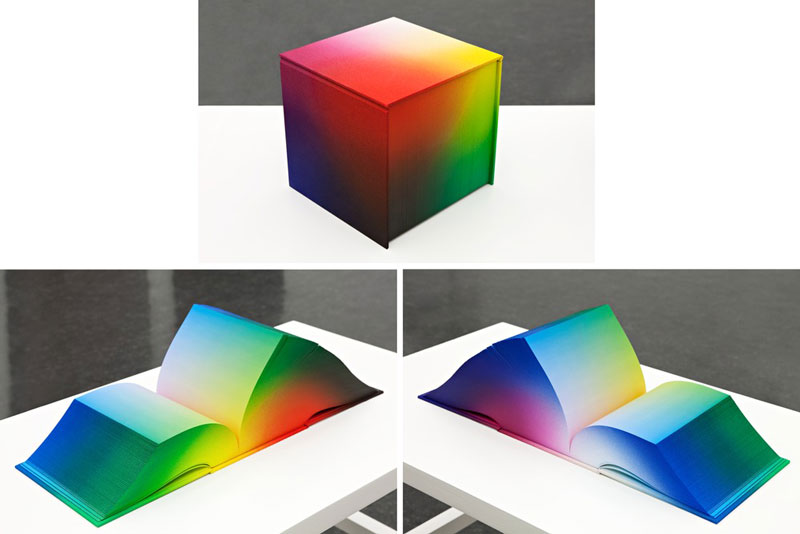 Printed Book Attempts To Display Every Rgb Color