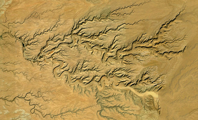 saudi arabia google earth fractals Fractal Patterns in Nature Found on Google Earth
