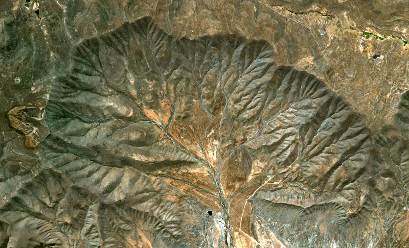 south africa google earth fractals Fractal Patterns in Nature Found on Google Earth