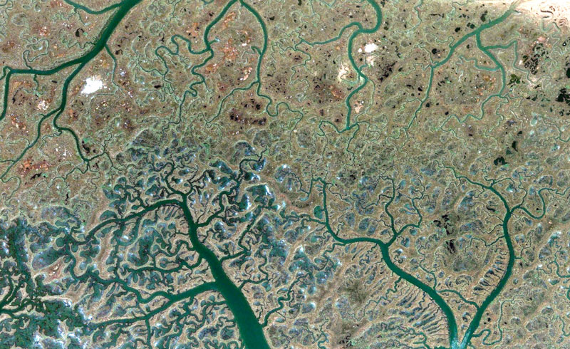 spain google earth fractals 2 Fractal Patterns in Nature Found on Google Earth