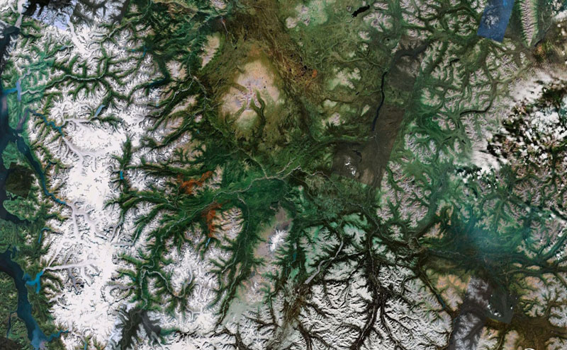 tsayta canada google earth fractals Fractal Patterns in Nature Found on Google Earth