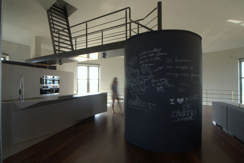 water tower house conversion belgium bham design studio 12 Belgium Water Tower Converted into Single Family Home
