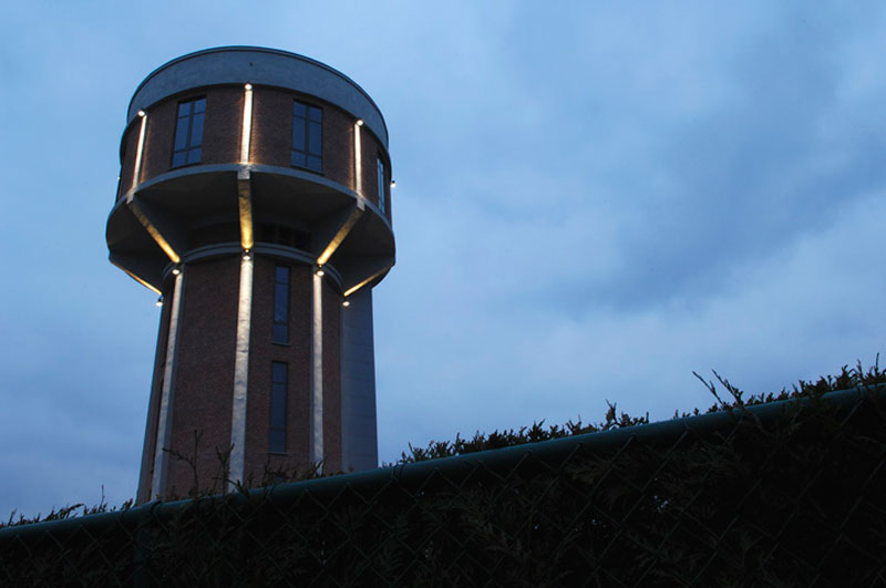 Belgium Water Tower Converted Into Single Family Home