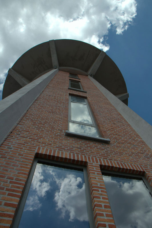 water tower house conversion belgium bham design studio 6 Belgium Water Tower Converted into Single Family Home