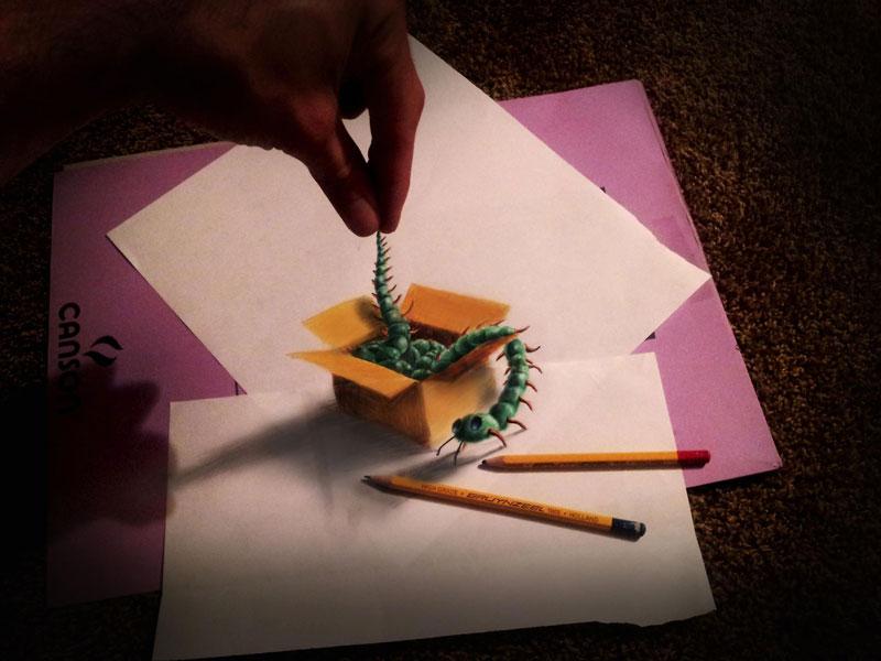 anamorphic 3d drawings ramon bruin 4 Anamorphic 3D Drawings by Ramon Bruin