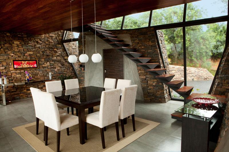 bauen architects hillside home built into landscape paraguay 8 A Unique Hillside Home Built Into the Landscape