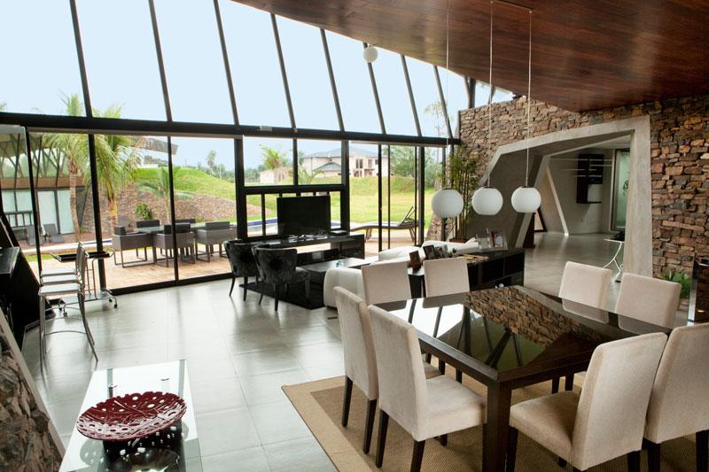 bauen architects hillside home built into landscape paraguay 9 A Unique Hillside Home Built Into the Landscape
