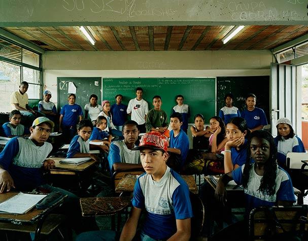 brazil belo horizonte series 6 mathematics classroom portraits julian germain 18 Classroom Portraits Around the World