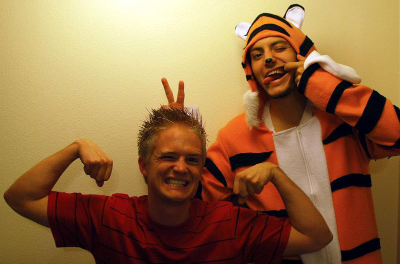 calvin and hobbes halloween costume 23 Funny and Creative Halloween Costumes