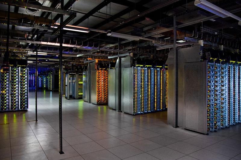 dalles oregon data center server room A Photo Tour of Google Data Centers Around the World