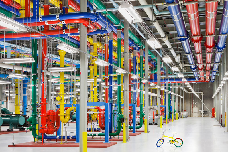A Photo Tour of Google Data Centers Around the World