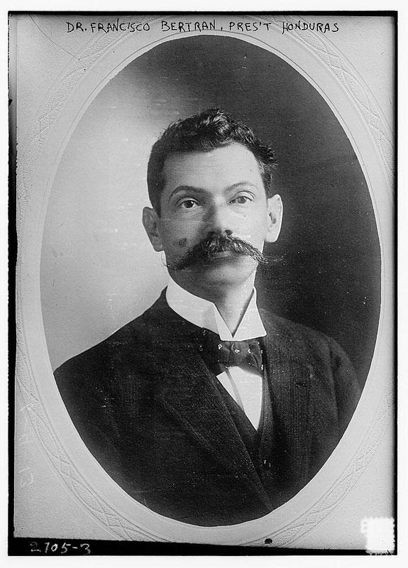 dr francisco bertrand president honduras vintage mustache 25 Vintage Mustaches