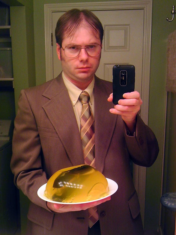 dwight schrute the office halloween costume 23 funny and creative halloween costumes - Creative Halloween Costume Idea