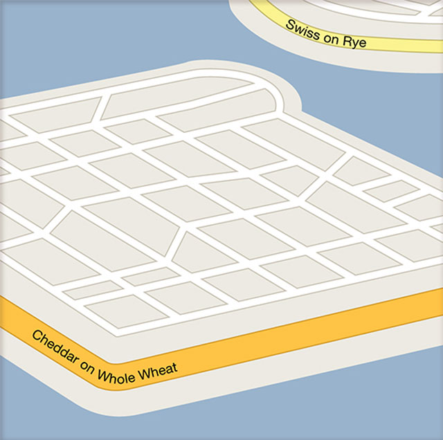 funny google maps illustrations christoph niemann new york times abstract city 10 12 Clever Google Maps Illustrations