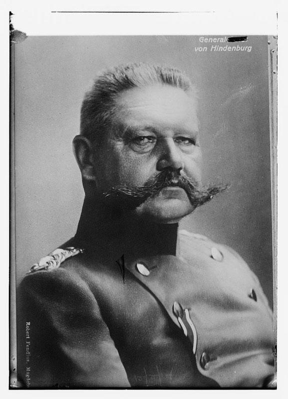 gen von hindenburg mustache 25 Vintage Mustaches